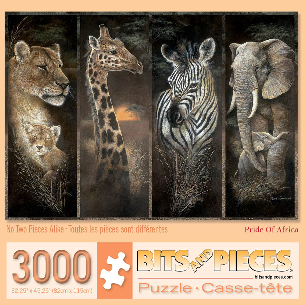 Pride of Africa 3000 Piece Large Format Jigsaw Puzzle