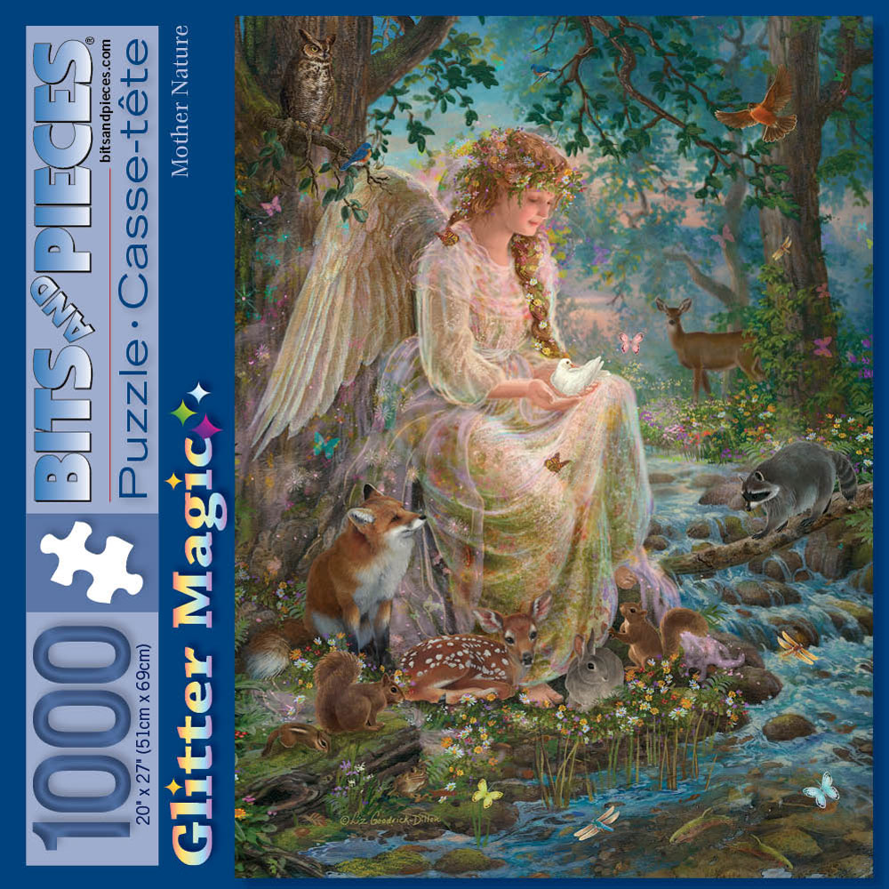 Mother Nature 1000 Piece Glitter Jigsaw Puzzle