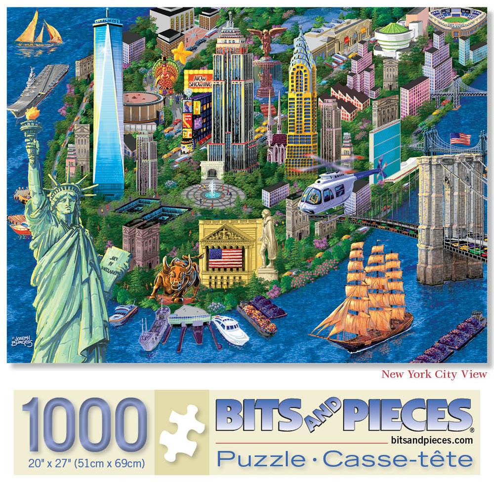 New York City 1000 Piece Jigsaw Puzzle