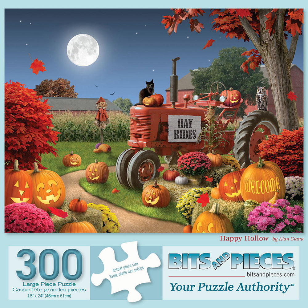 Happy Hollow 300 Large Piece Jigsaw Puzzle