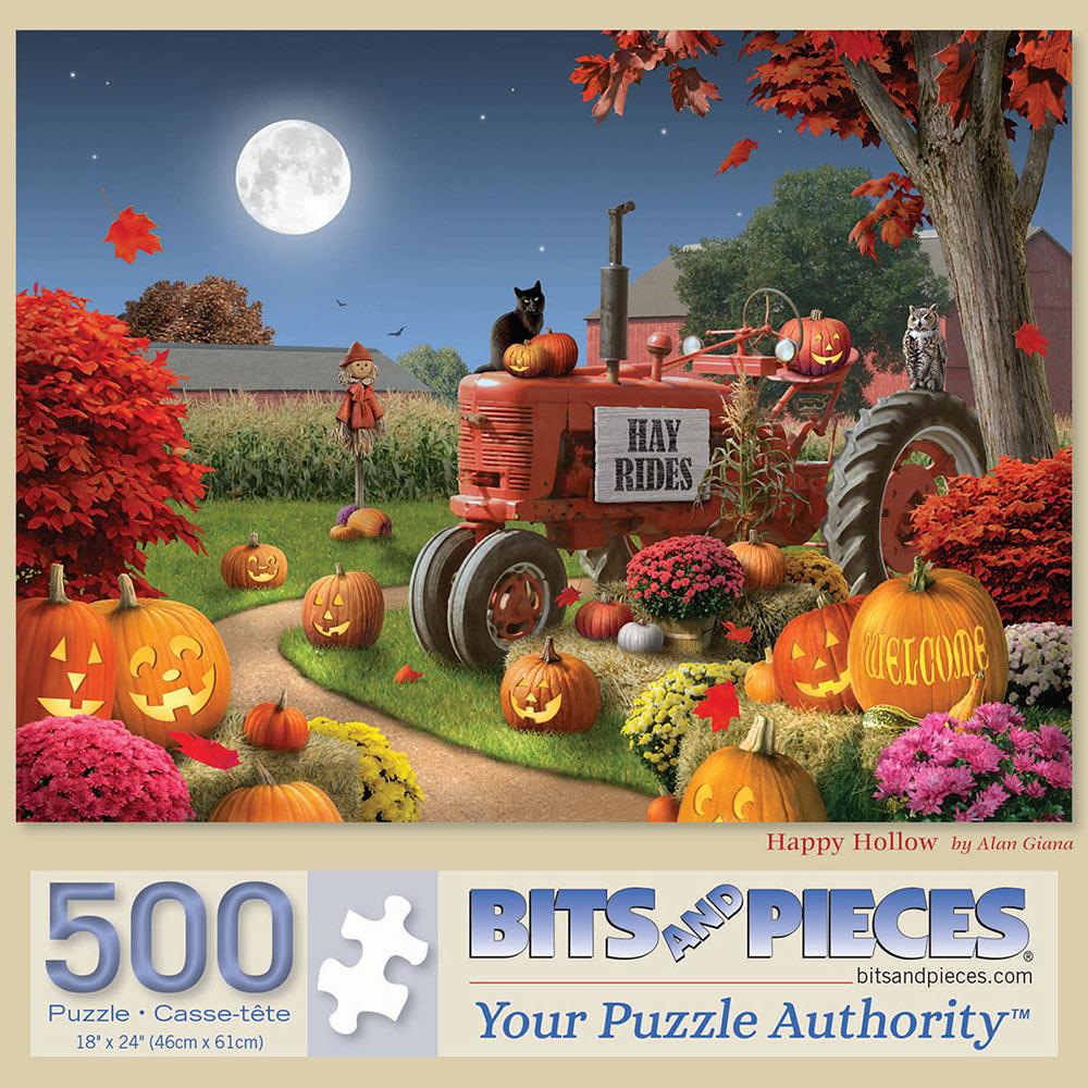 Happy Hollow 500 Piece Jigsaw Puzzle