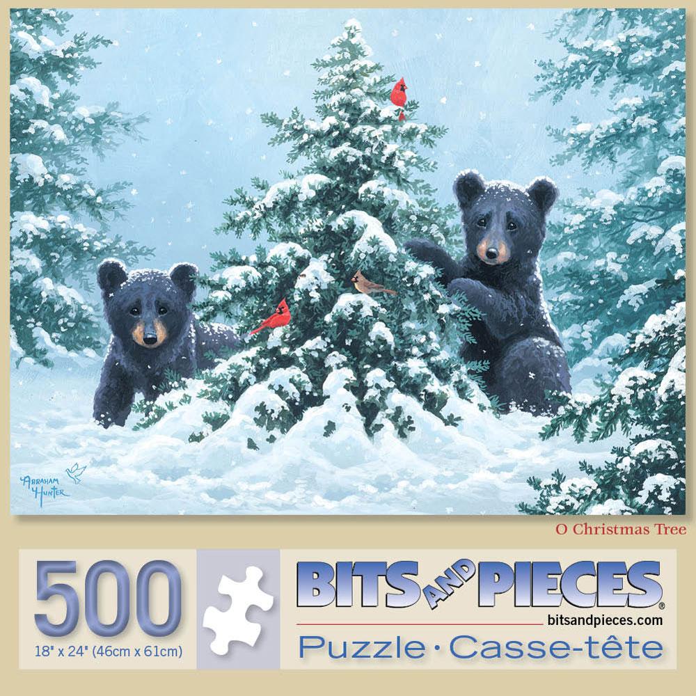 O Christmas Tree 500 Piece Jigsaw Puzzle