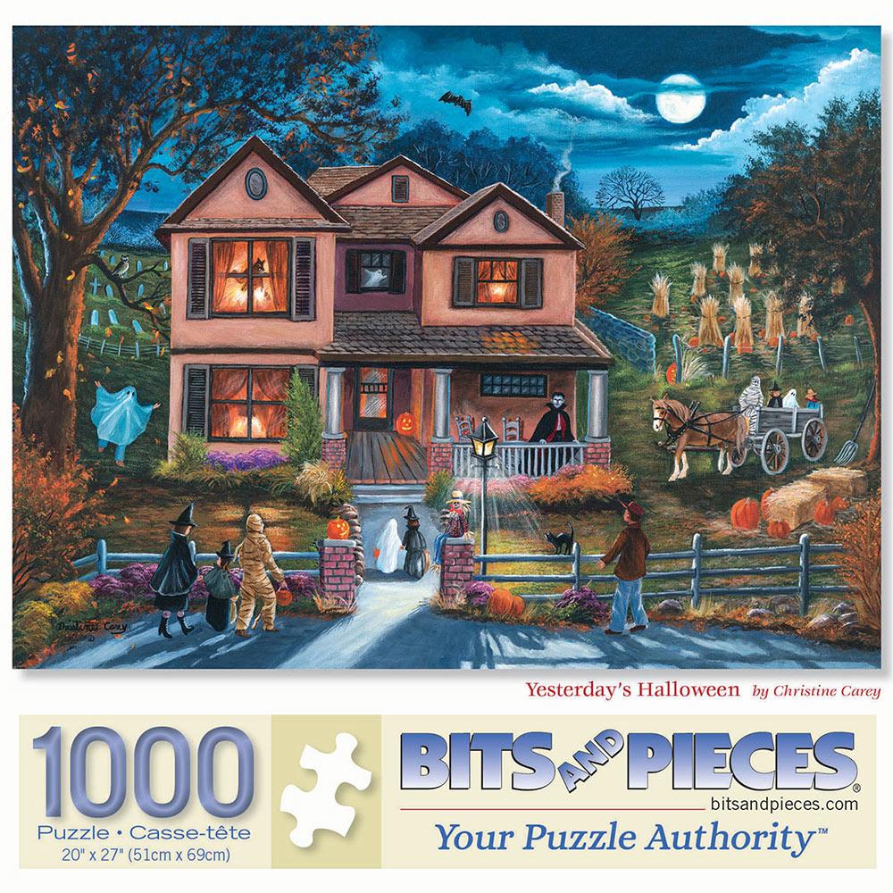 Yesterday's Halloween 1000 Piece Jigsaw Puzzle