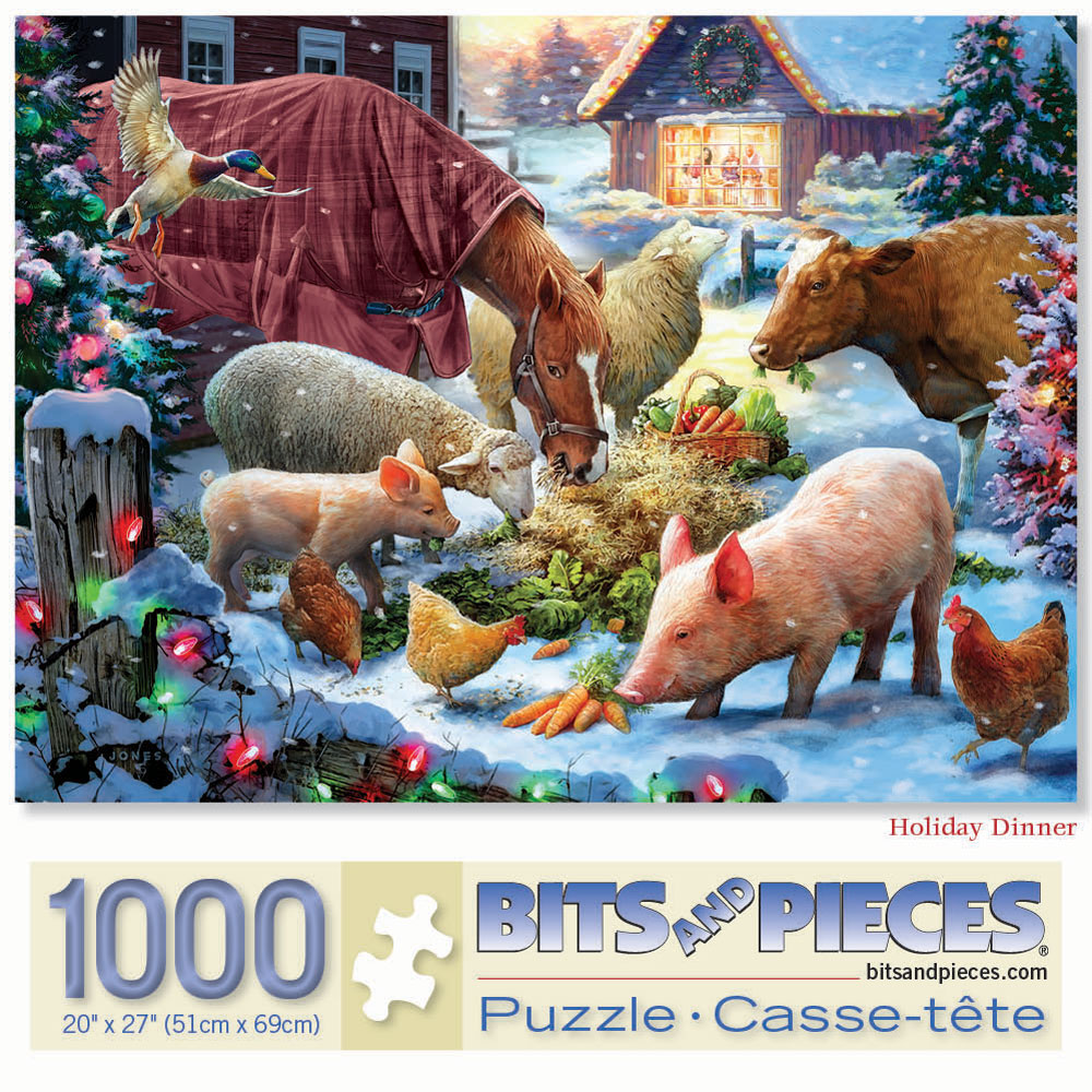 Holiday Dinner 1000 Piece Jigsaw Puzzle