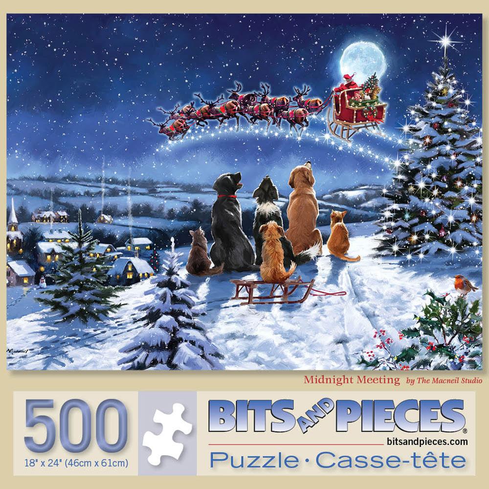 Midnight Meeting 500 Piece Jigsaw Puzzle