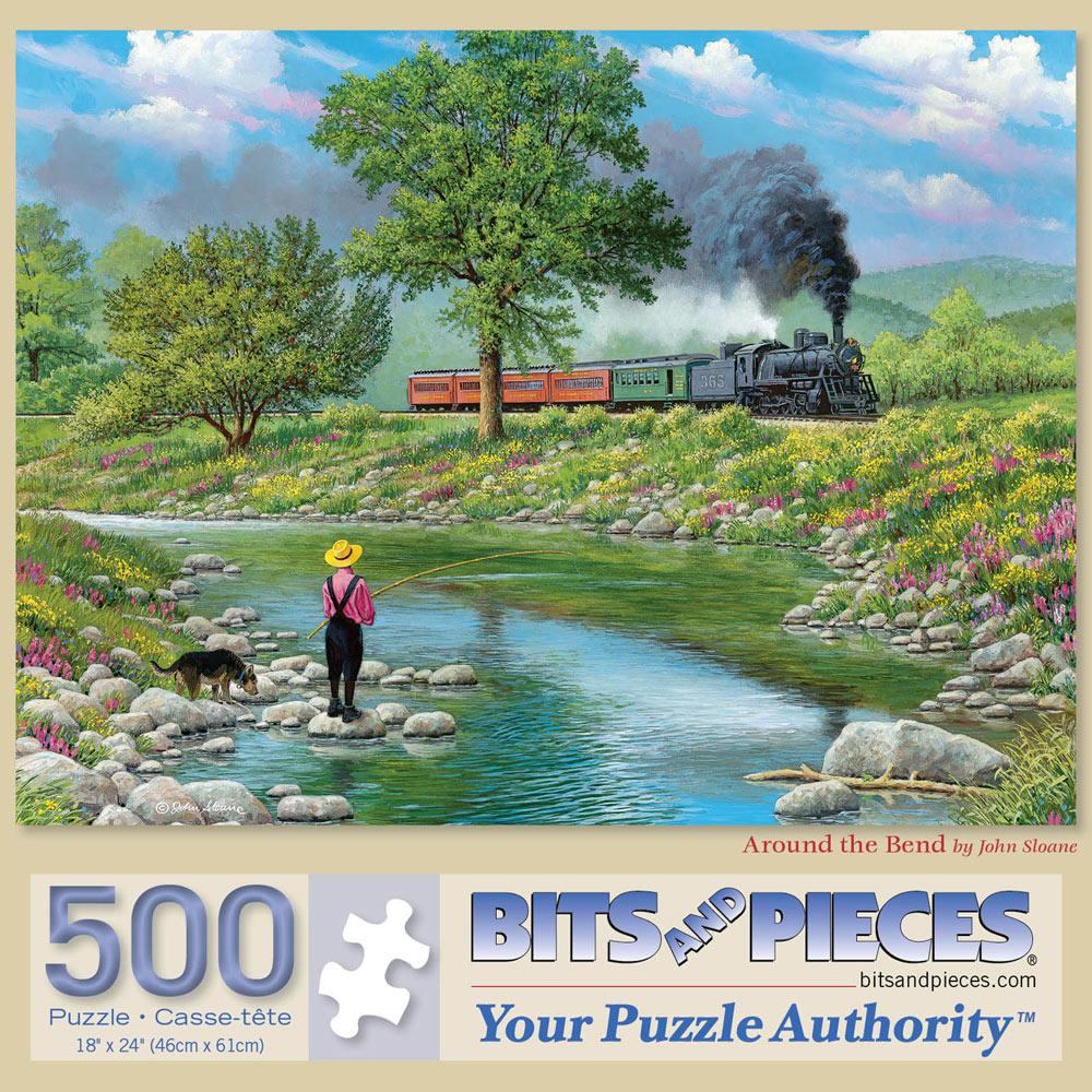 Around The Bend 500 Piece Jigsaw Puzzle