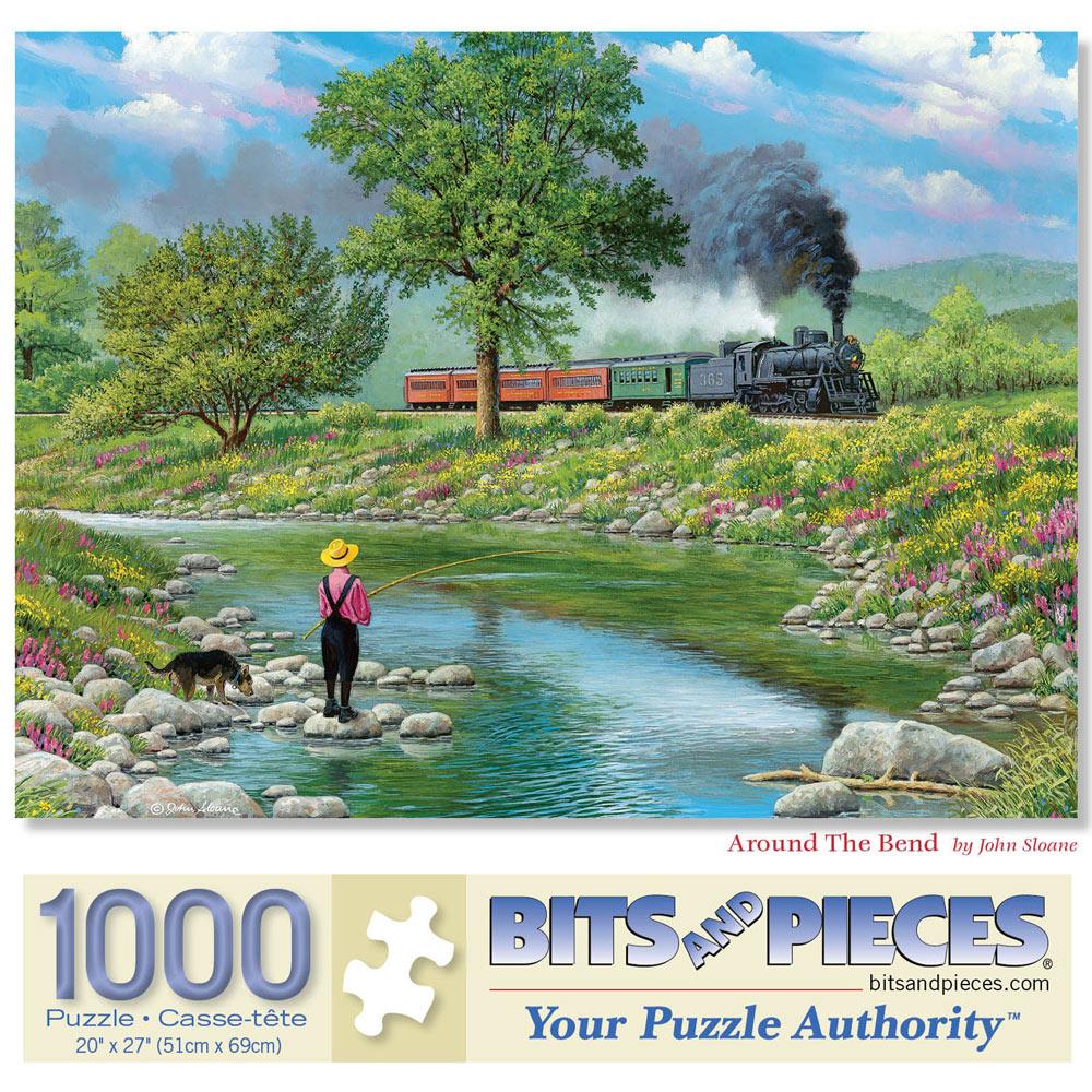 Around The Bend 1000 Piece Jigsaw Puzzle