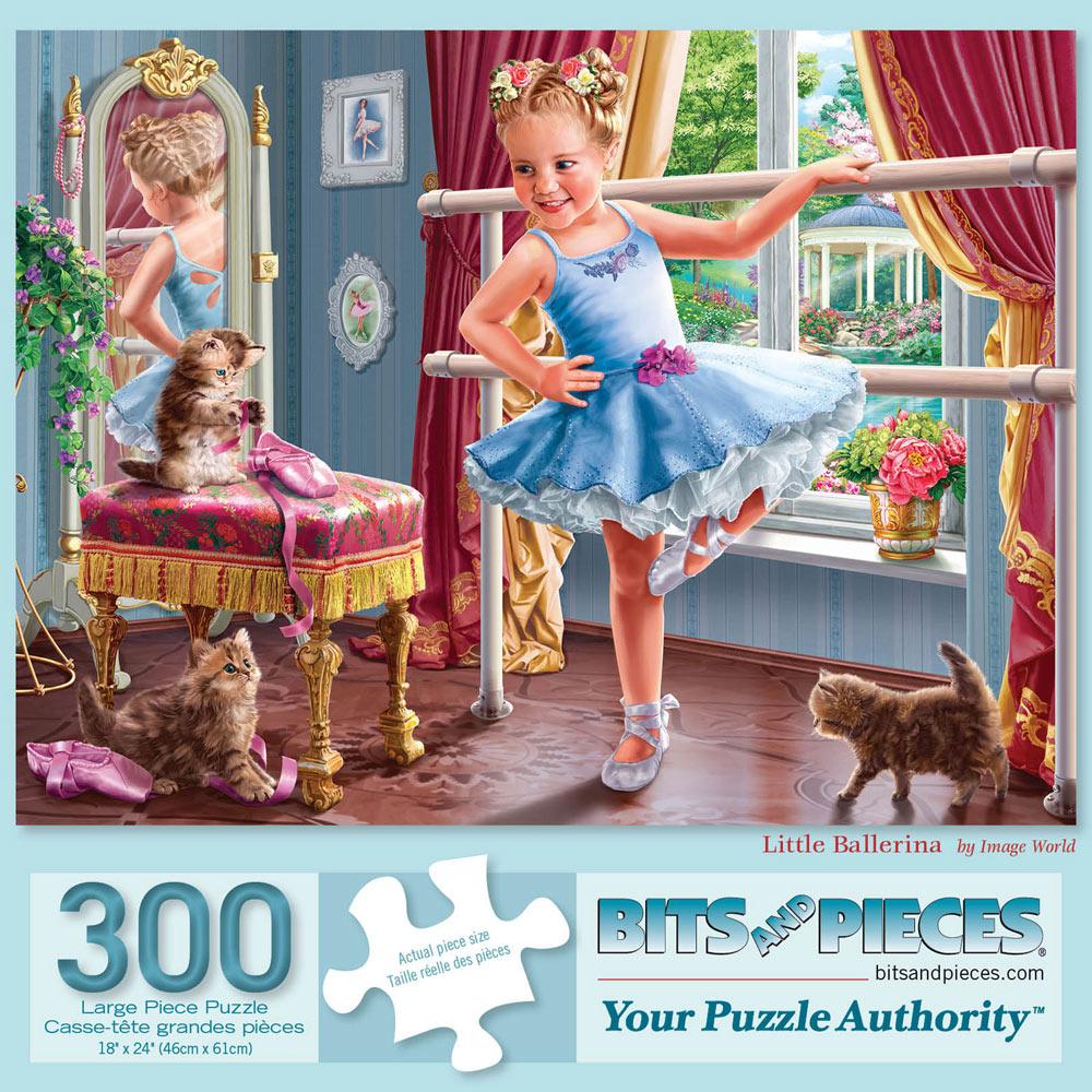 Little Ballerina 300 Large Piece Jigsaw Puzzle