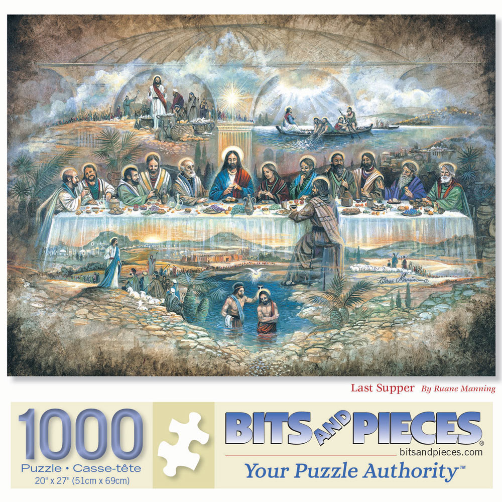 The Last Supper 1000 Piece Jigsaw Puzzle