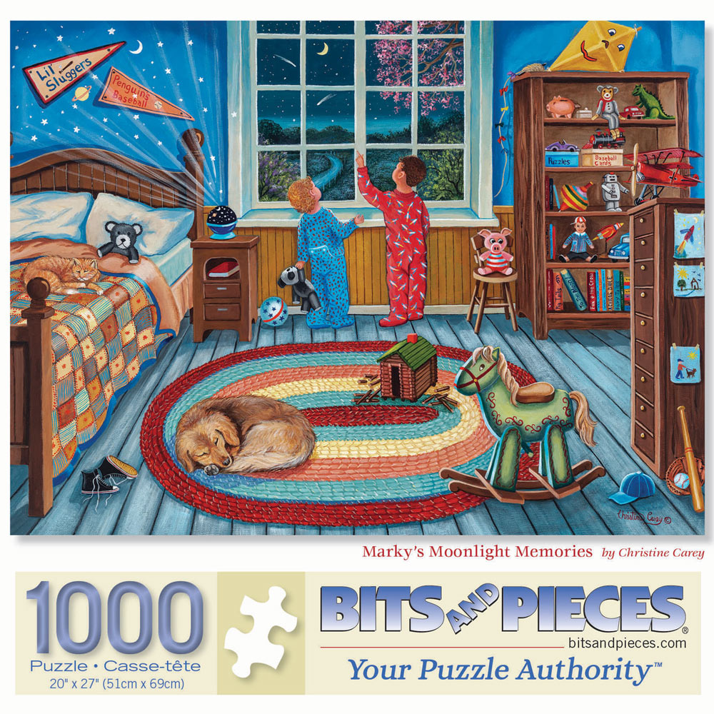 Marky's Moonlight Memories 1000 Piece Jigsaw Puzzle