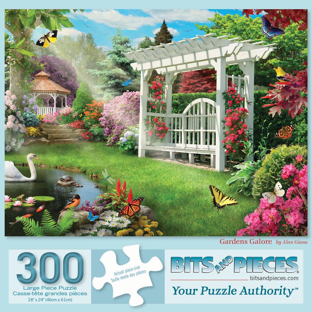 Gardens Galore 300 Large Piece Jigsaw Puzzle