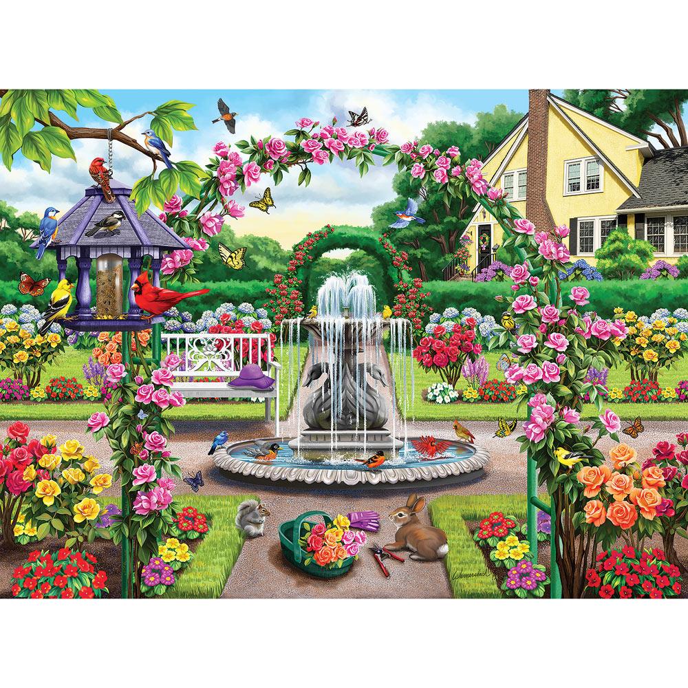 Enter The Rose Garden 1000 Piece Jigsaw Puzzle