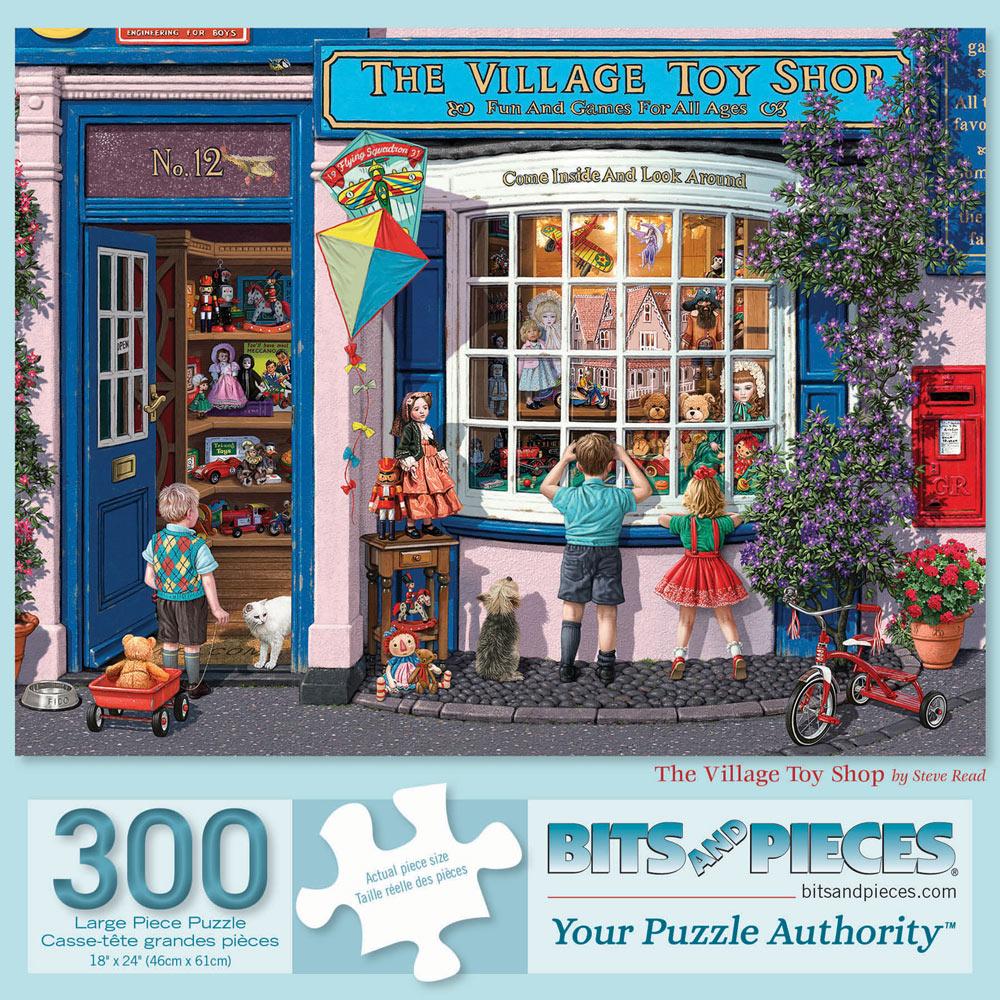 The Village Toy Shop 300 Large Piece Jigsaw Puzzle