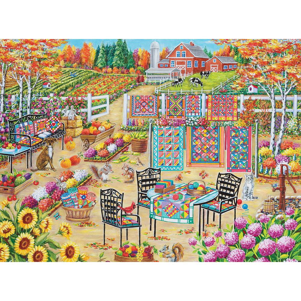 Fall Splendor 1000 Piece Jigsaw Puzzle