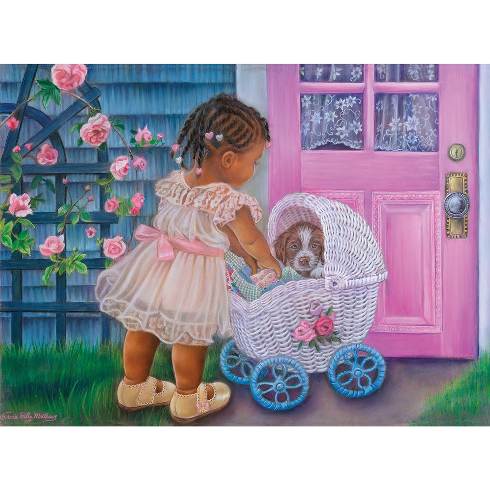 Puppy Love 300 Large Piece Jigsaw Puzzle