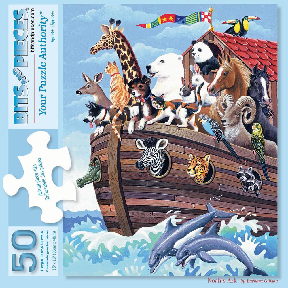 Noah's Ark 50 Large Piece jigsaw Puzzle
