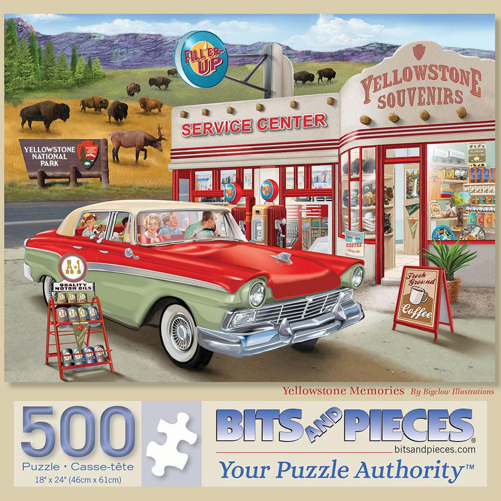 Yellowstone Memories 500 Piece Jigsaw Puzzle