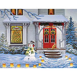 All Aglow 300 Large Piece Jigsaw Puzzle