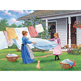 One, Two, Three! 300 Large Piece Jigsaw Puzzle