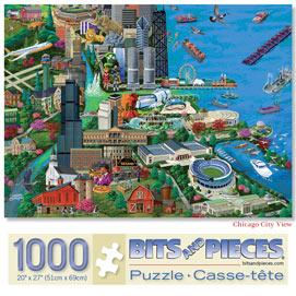 Chicago 1000 Piece Jigsaw Puzzle