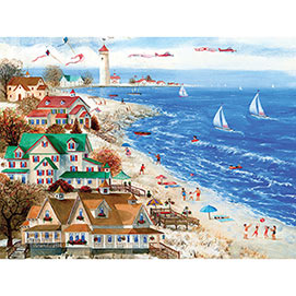 Beach Proposal 1000 Piece Jigsaw Puzzle