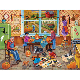 Halloween Party 1000 Piece Jigsaw Puzzle