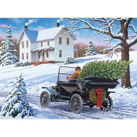 The Drive Home 500 Piece Jigsaw Puzzle