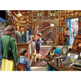 Bookshop 300 Large Piece Jigsaw Puzzle