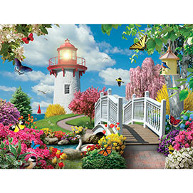 Spring Light 300 Large Piece Jigsaw Puzzle