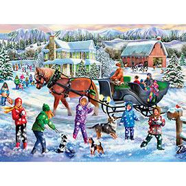 Winter Full of Wonders 500 Piece Jigsaw Puzzle