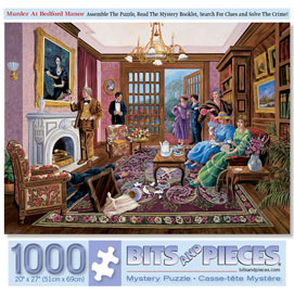 Murder at Bedford Manor 1000 Piece Story Jigsaw Puzzle