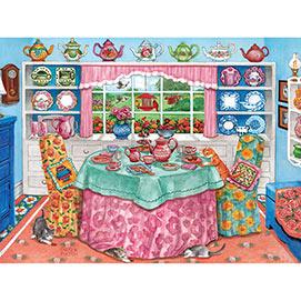 Tea Room 300 Large Piece Jigsaw Puzzle