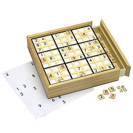 Sudoku Board with 100 Games Table Game