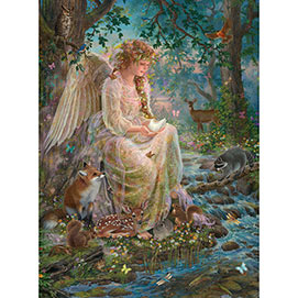 Mother Nature 300 Large Piece Glitter Jigsaw Puzzle
