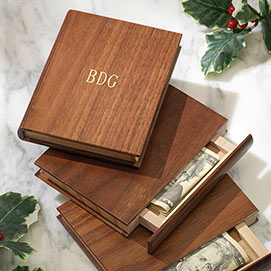 Personalized Mini Book Box