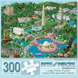 Washington DC 300 Large Piece Jigsaw Puzzle