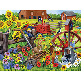 Singing in the Meadow 300 Large Piece Jigsaw Puzzle