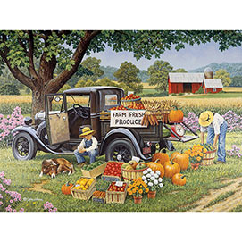 Home Grown 300 Large Piece Jigsaw Puzzle