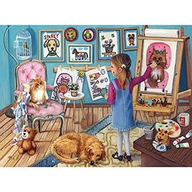 The Artist 300 Large Piece Jigsaw Puzzle