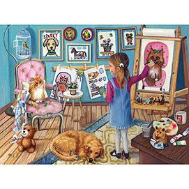 The Artist 1000 Piece Jigsaw Puzzle