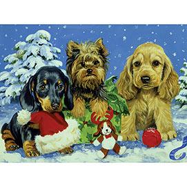 Snow Puppies 1000 Piece Jigsaw Puzzle