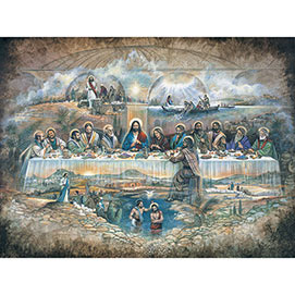 The Last Supper 300 Large Piece Jigsaw Puzzle