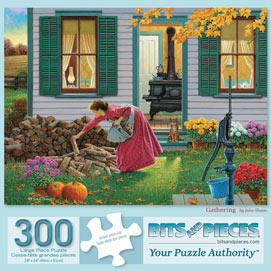 Gathering 300 Large Piece Jigsaw Puzzle