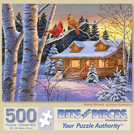 Rustic Retreat 500 Piece Jigsaw Puzzle
