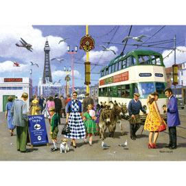 Vintage Blackpool 500 Piece Jigsaw Puzzle