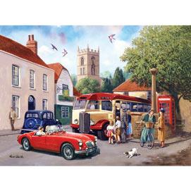 An English Village 1000 Piece Jigsaw Puzzle