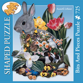 Spring has Sprung 725 Piece Shaped Jigsaw Puzzle