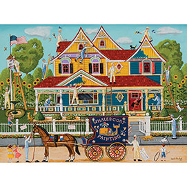 Painted Lady 1000 Piece Jigsaw Puzzle