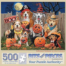 Halloween Tricksters 500 Piece Jigsaw Puzzle