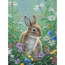 Spring Bunny 500 Piece Jigsaw Puzzle
